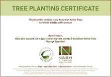 NASH TIMBERS CERTIFICATE V22 SMALL