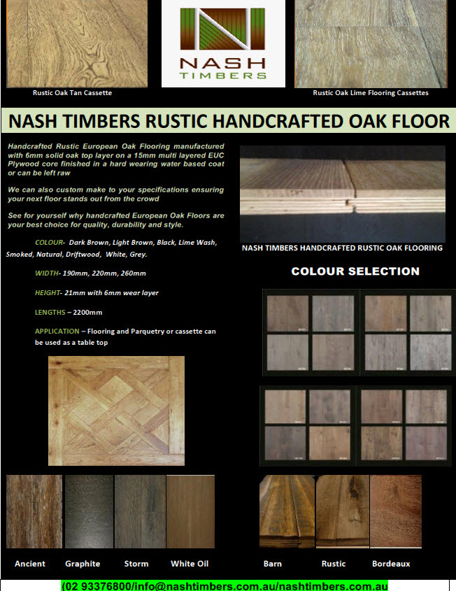 RUSTIC HANDCRAFTED OAK TN - Copy